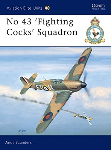No 43 'Fighting Cocks' Squadron (Aviation Elite Units) por Andy Saunders