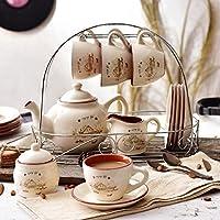 KHSKX Set caffè in stile Europeo a