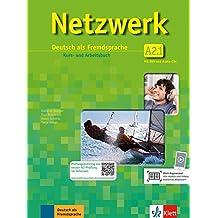 Netzwerk A2: Deutsch als Fremdsprache / Deutsch als Fremdsprache. Kurs- und Arbeitsbuch mit DVD und 2 Audio-CDs (Netzwerk / Deutsch als Fremdsprache)
