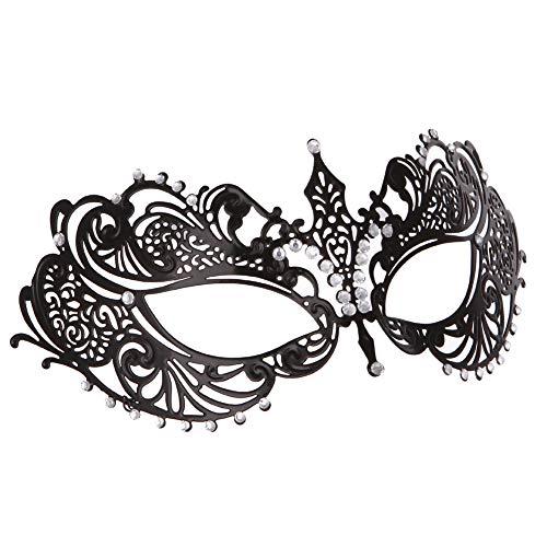 König Und Ich Frauen Kostüm - Maskerade Maske Frauen Metall Hohl Glänzend