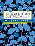 Scozia Vecchio blockf saldatura del Libro Duett–Flute a bec classico Noten Flauto Dolce
