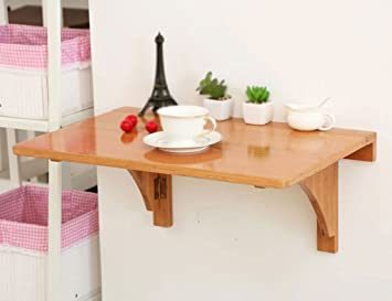 HYDT Tavolo pieghevole Tavolo da parete in stile europeo Tavolo ...