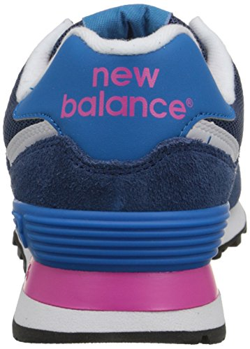 Baskets New Balance Nbwl574mon, Donna Blu (bleu (bleu Moy / Rose))