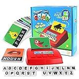 F-blue Los Primeros niños de educación estudiar inglés interés Brain Games Aprende Palabras a través de fotografías para niños