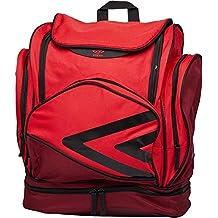 Umbro Pro Training Italia - Mochila para Equipaje, Color Red/Claret/Black,