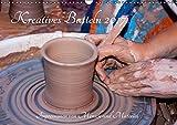 Kreatives Basteln 2017. Impressionen von Mensch und Material (Wandkalender 2017 DIN A3 quer): 12 farbenfrohe Bilder von Kunsthandwerkern und ihren ... (Monatskalender, 14 Seiten) (CALVENDO Hobbys)