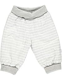 Fixoni bébé unisexe, pantalon taille élastique, Babytales, blanc/gris, 31470
