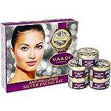 Vaadi Herbals Anti Pollution Silver Facial Kit, 270g