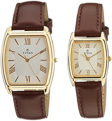 512oikCwUlL - Titan NB19582958YL02 Bandhan Couples watch