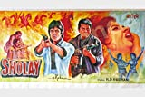 Posterhouzz Wall Poster Sholay Movie Bollywood