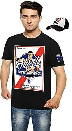 Attitude Boy's Cotton T-shirt(fm187_Black_Large)
