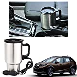 #3: Vheelocityin 12V socket Heated Mug for Coffee/ Tea Car Glass For Honda WRV