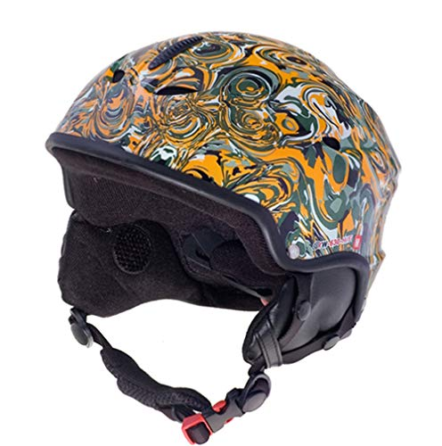 rueger-helmets RW-630 mit Lautsprechern Skihelm Snowboardhelm Ski Snowboard Skisport Bergsport, Größe:L (59-60), Farbe:YM