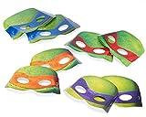 Amscan International Teenage Mutant Ninja Turtle Card Masks
