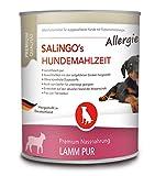 SALiNGO Allergie Hundefutter nass, Lamm PUR, getreidefrei (800g)