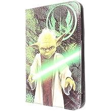 """DAM - Star Wars Funda Universal Giratoria 360º para Tablet e Ebooks 100% Original - 9""""-10"""" (Max.18*25cm), Y01"""