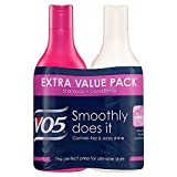 VO5 Smoothly Does It Shampoo and Conditioner Twin Pack, Pack of 3