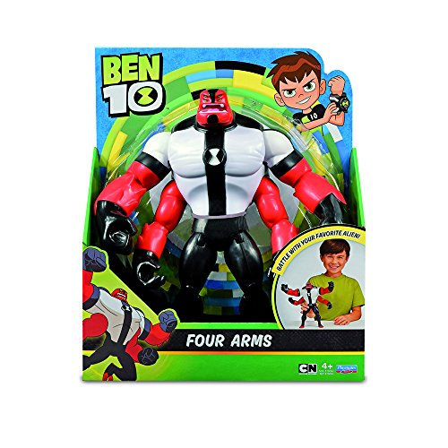 Ben 10 Figure of Four Arms, 28 cm (Giochi Preziosi BEN02000)