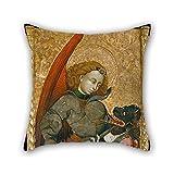 Slimmingpiggy Gemälde-blasco graã-±, Erzengel St. Michael Kissenbezug 40x 40x 40cm, für das Wohnzimmer, für Paare, beidseitig