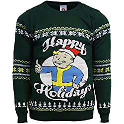 Official Fallout Happy Holidays Christmas Jumper/Ugly Sweater - UK 4XL/US 3XL