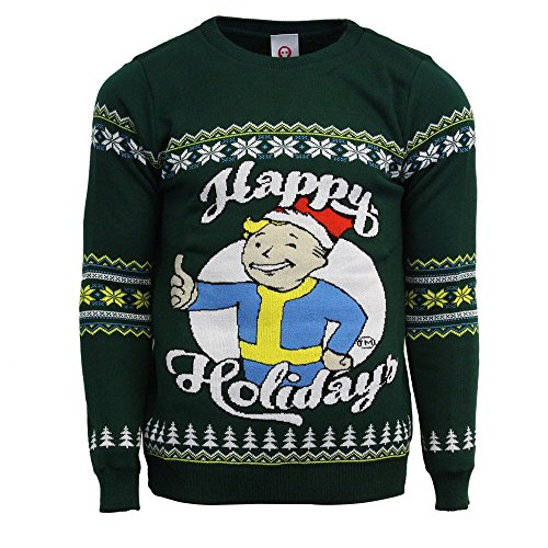 Fallout Official Happy Holidays Christmas Jumper/Ugly Sweater 5