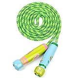 Pixnor Kinder Hüpfseil Kinder einstellbar springen Seil Fitness Übung Springseil Übung Seil