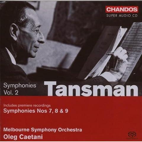 Alexandre Tansman : Symphonies n°7, 8 et 9 - vol.2