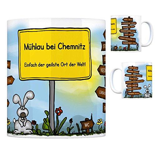 Mühlau bei Chemnitz - Einfach die geilste Stadt der Welt Kaffeebecher