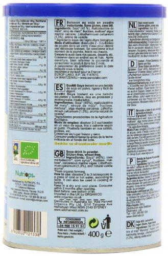 Ecomil Soja-Calcium-Pulver, 1er Pack (1 x 400 g)