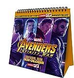 Marvel Avengers Desk Easel Official 2019 Calendar - Change Up Desk Easel Format
