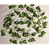 Best Artificial (TM) English 210cm / 7ft Ivy Garland Hanging Vine String Plant - IL03 (2)