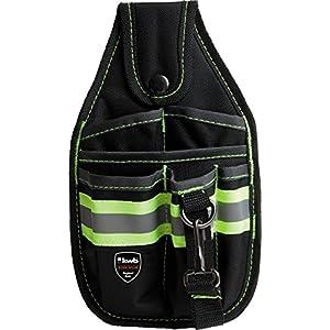 KWB 49909610 – Bolsa porta herramientas para cinturón (lazo para martillo, con mosquetón)