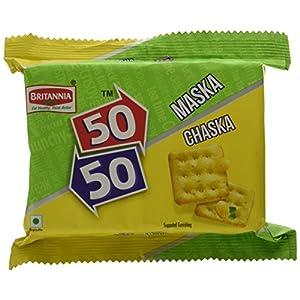 Britannia 50-50 Maska Chaska Biscuits, 120g
