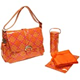 Kalencom Fashion Diaper Bag, Changing Bag, Nappy Bag, Mommy Bag, Coated Buckle Bag (Medallion Passion)