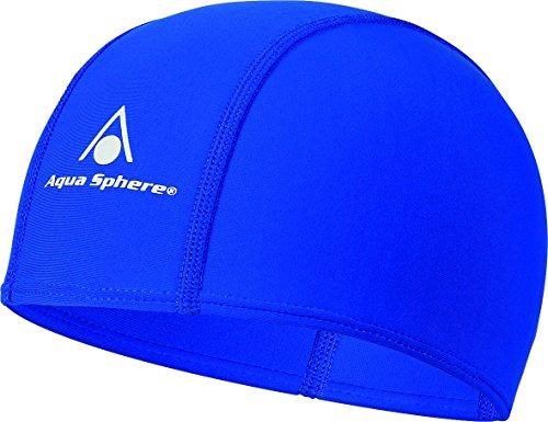 Aqua Sphere  Schwimmmütze Aqua Fit Cap, Blau, One Size, SA134113