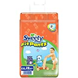 Sweety Fit Pantz Jumbo Pack Baby Diaper (Size: XXL - >17 KG, Count: 28)