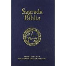Sagrada Biblia (ed. típica - tela): Versión oficial de la Conferencia Episcopal Española (Ed. típica - tela) (EDICIONES BÍBLICAS)