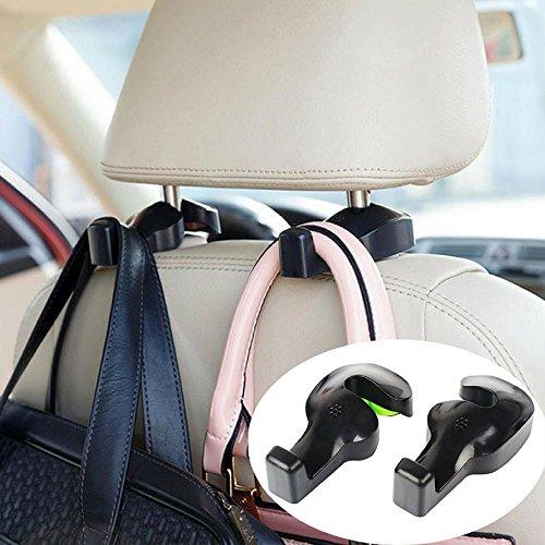 Preisvergleich Produktbild Haken Universal für Kopfstützen Sitz hinten,  für Aufhängen die Strandkorb Tasche,  Handtasche oder Kleidung