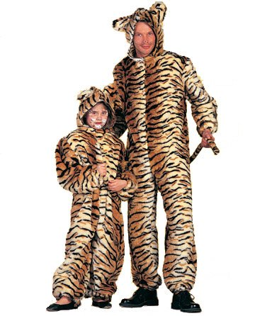 Wilbers Federbein Tiger Kinder Kostüm -