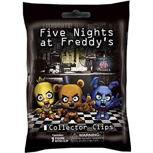 """Licenza Ufficiale Cinque Notti Di Freddy 3 """" Figura Ganci Cieco Pack 1 Stile Casuale"""