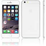 iGard iPhone 6 Plus / 6S PLUS Ultra Slim Hard Case Matt 0,3mm Cover Schutzhülle Hülle Weiß Transparent