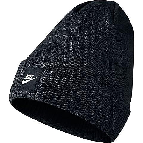 Nike Futura Beanie - Red - Gorra para hombre, color negro, talla Única