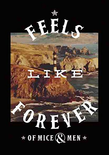 of Mice and Men - Feels Like Forever - poster drapeau - 100% Polyester - Taille 75 x 110 cm