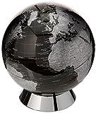 Globe Collection, Globus-Sparbüchse, 20 cm, Schwarz