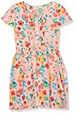 Yumi Girl's Tropical Floral Playsuit (Multi) Dress, Multicoloured, 9-10 Years