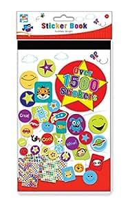 Anker Grand livre d'autocollants pour les enfants - Plus de 2000 Stickers Taille 244mm x 147mm
