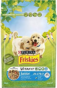Purina Friskies Junior Dog Food with Chicken and Vegetables 3 Kg