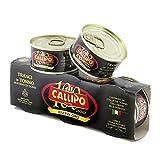 Callipo - Riserva Oro - Tranci di Tonno all'Olio di Oliva - Tin - 3 x 80g