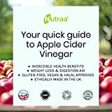 Nutraa - Apple Cider Vinegar Capsules 1000mg - 180 High Strength Pills - Discover Incredible Health Benefits - The Best Weight Loss & Diet Tablets - Aids Digestion & Improves Overall Health