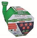 Idroeasy Magic Soft, Il Tubo Estensibile da Giardino Che Si estende Fino a 2,5 Volte la Sua Lunghezza Iniziale Made in Italy (30)